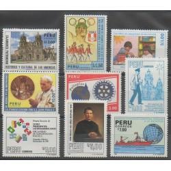 Pérou - 1988 - No 872/880
