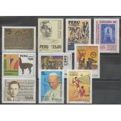 Peru - 1988 - Nb 881/890