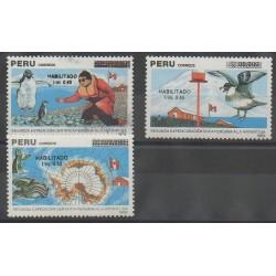 Pérou - 1991 - No 950/952 - Polaire