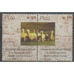 Peru - 2000 - Nb 1222/1223 - Mamals