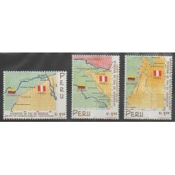 Pérou - 1999 - No 1214/1216 - Histoire