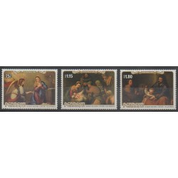 Penrhyn - 1985 - Nb 317/319 - Christmas