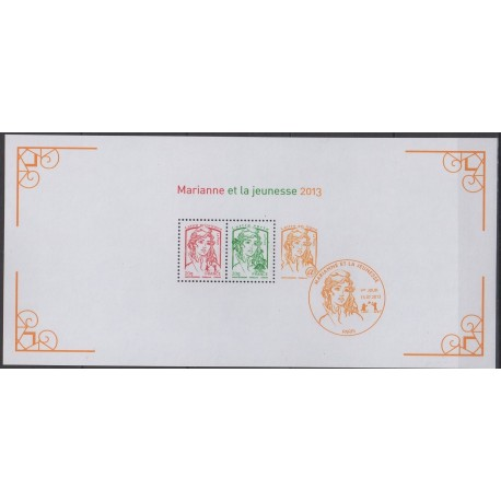 France - Souvenir sheets - 2013 - Nb BS 82