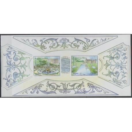 France - Souvenir sheets - 2013 - Nb BS 80 - Sites