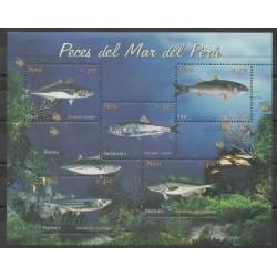 Pérou - 2004 - No 1411/1415 - Animaux marins