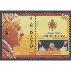 Peru - 2006 - Nb 1514/1515 - Pope