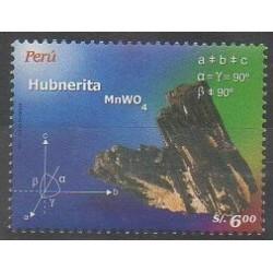 Pérou - 2006 - No 1546 - Sciences et Techniques - Minéraux - Pierres précieuses
