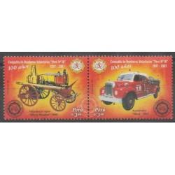 Pérou - 2007 - No 1701/1702 - Pompiers