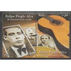 Pérou - 2007 - No 1630/1631 - Musique
