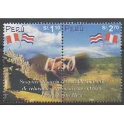 Peru - 2002 - Nb 1285/1286 - Various Historics Themes