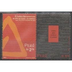 Pérou - 2002 - No 1283/1284