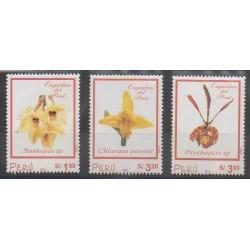 Pérou - 2002 - No 1292/1294 - Orchidées