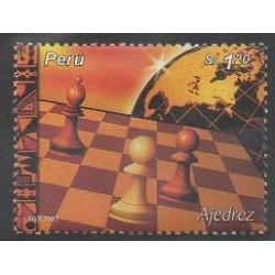 Pérou - 2004 - No 1352 - Échecs