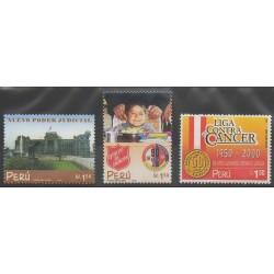 Peru - 2000 - Nb 1257/1259