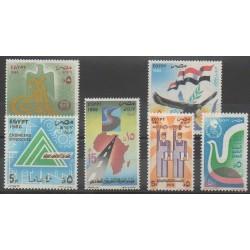 Égypte - 1986 - No 1313/1318