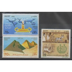 Égypte - 1992 - No PA213/PA215