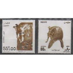 Égypte - 1993 - No PA219/PA220 - Art