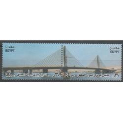 Égypte - 2002 - No 1754/1755 - Ponts