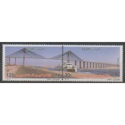 Égypte - 2001 - No 1703/1704 - Ponts