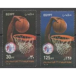 Egypt - 2003 - Nb 1774/1775 - Various sports