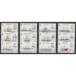 British Antarctic Territory - 2008 - Nb 476/487 - Boats - Polar