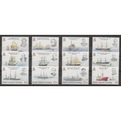 Grande-Bretagne - Territoire antarctique - 2008 - No 476/487 - Navigation - Polaire