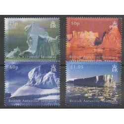 Grande-Bretagne - Territoire antarctique - 2007 - No 451/454 - Polaire