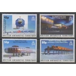 Grande-Bretagne - Territoire antarctique - 2005 - No 407/410 - Polaire
