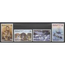 Grande-Bretagne - Territoire antarctique - 2005 - No 403/406 - Polaire - Chiens
