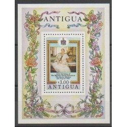 Antigua - 1980 - No BF50 - Royauté - Principauté