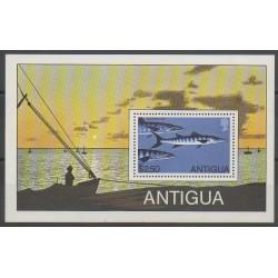 Antigua - 1975 - No BF43 - Animaux marins