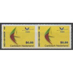 Pays-Bas caribéens - Saint-Eustache - 2014 - No 1/2