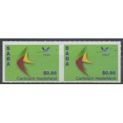 Caribbean Netherlands - Saba - 2014 - Nb 1/2