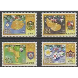 Pays-Bas caribéens - 2012 - No 32/35 - Armoiries