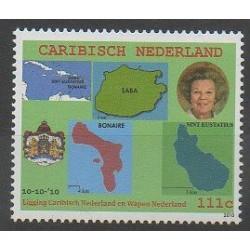 Caribbean Netherlands - 2010 - Nb 1