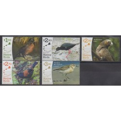 New Zealand - 2017 - Nb 3333/3337 - Birds