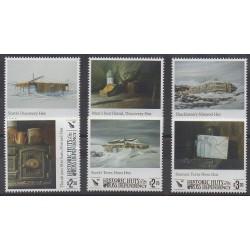 Ross Dependency - 2017 - Nb 161/166 - Polar - Paintings