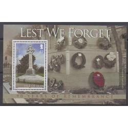 Man (Ile de) - 2008 - No BF73 - Première Guerre Mondiale