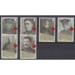 Man (Ile de) - 2008 - No 1503/1508 - Première Guerre Mondiale