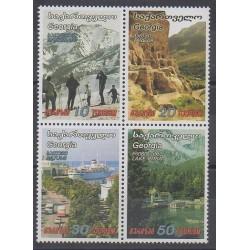Géorgie - 2003 - No 352/355 - Tourisme