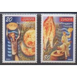Georgia - 2005 - Nb 379/380 - Gastronomy - Europa