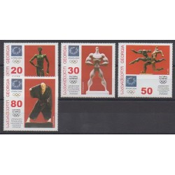 Georgia - 2004 - Nb 364/367 - Summer Olympics
