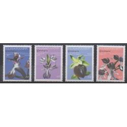 Georgia - 2005 - Nb 384/387 - Orchids