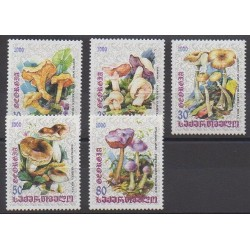 Géorgie - 2000 - No 284/288 - Champignons