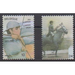 Belgium - 1984 - Nb 2120/2121 - Summer Olympics