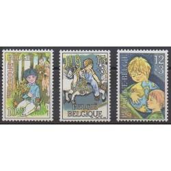Belgique - 1984 - No 2151/2153 - Enfance