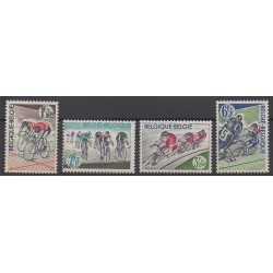 Belgique - 1963 - No 1255/1258 - Sports divers