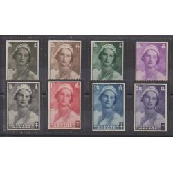 Belgique - 1935 - No 411/418 - Royauté - Principauté