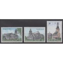 Belgique - 1984 - No 2138/2140 - Églises
