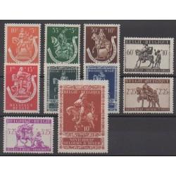 Belgique - 1942 - No 603/612